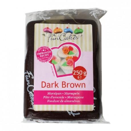 FunCakes Marzipan Dark Brown -250g-