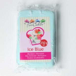 Pâte d'amande FunCakes bleu clair 250 g