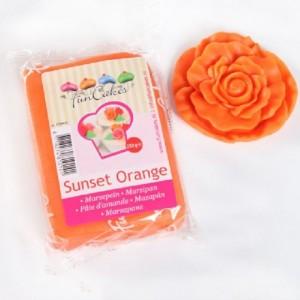 Pâte d'amande FunCakes orange 250 g