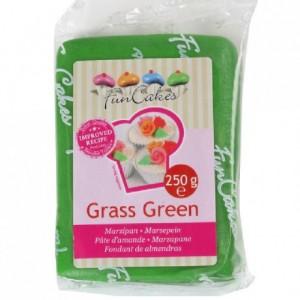 Pâte d'amande FunCakes vert 250 g