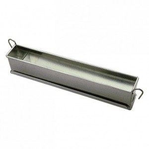 Long plain loaf pan mini tin 300x40 mm