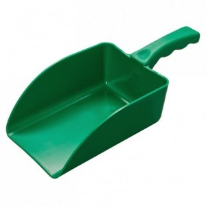 Green one-piece scoop 70 cL