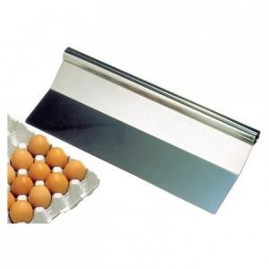 Pelle à omelette inox L 470 mm