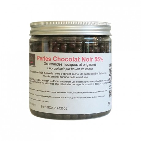 Perles chocolat noir 200 g
