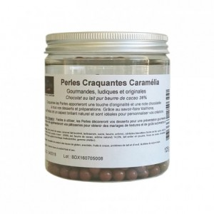 Perles craquantes Caramélia 125 g
