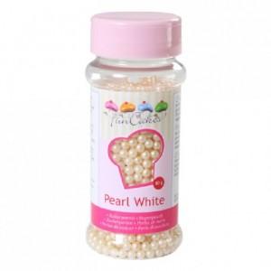 Perles de sucre FunCakes blanc perlé 80 g