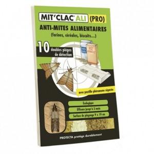Piège contre les mites alimentaires Mitclac (lot de 10)