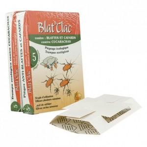 Piège contre les blattes et les cafards Blatclac (lot de 10)