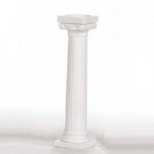 Piliers Wilton Grec blanc 12,5 cm 4 pièces