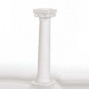 Wilton Grecian Pillars 12,5 cm pk/4
