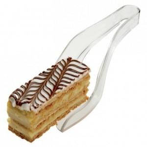 Pince à pâtisserie transparente
