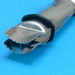 Pinces PME marquage semi-arrondies à bords dentés