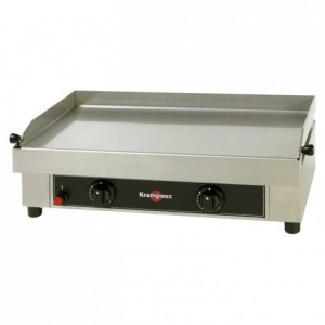 Gas plancha stainless steel with regulator