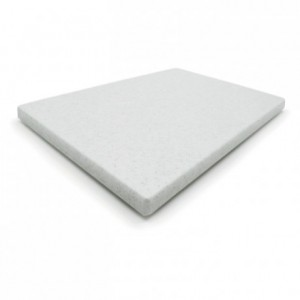 Chopping board Polyethylen without feet without grooves 400 x 300 mm