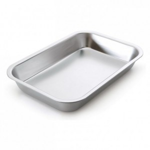 Food storage pan aluminium L 360 mm