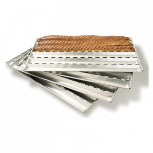 Alu-Gaufer bread sheet 750 x 430 mm