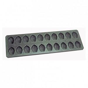 20 madeleines cup cake sheet Exopan L 42 mm