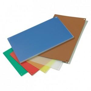 Plaque flexible polyéthylène blanc GN 1/1 (lot de 4)