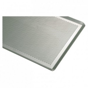 Perforated sheet aluminium 400 x 300 mm