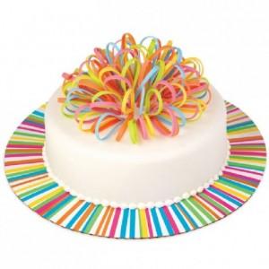 Plateau à gâteau Wilton ronds multicolore 30 cm 3 pièces