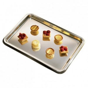 Lunch tray silver (50 pcs)