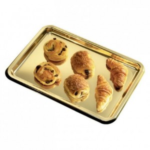 Lunch tray gold (50 pcs)