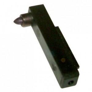 Black feather for temperature recorder ( 5 pcs)