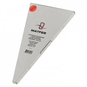 Poches jetables Matfer en boite distributrice (lot de 100)