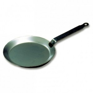 Crepes pan black steel Ø 180 mm