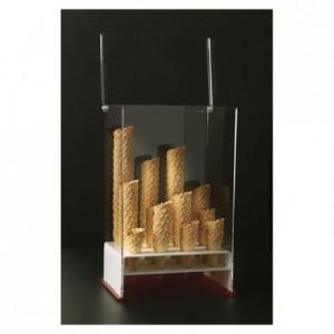 Porte-cornets à glace verticaux 12 trous 330 x 250 x 500 mm