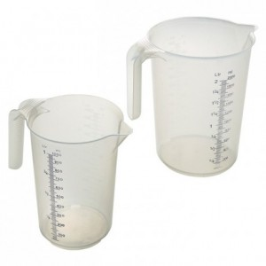Pot plastique gradué 0,25 L