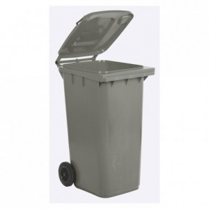 Trash bin with wheels 120 L