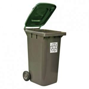 Recycling green bin 120 L
