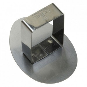 Poussoir oeuf inox 75x52 mm (lot de 6)