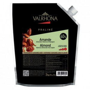 Almond Caramelized Praliné 60% nuts 3 kg