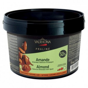 Almond Caramelized Praliné 50% nuts 5 kg