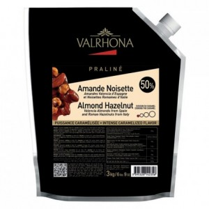 Almond Hazelnut Caramelized Praliné 50% nuts 3 kg