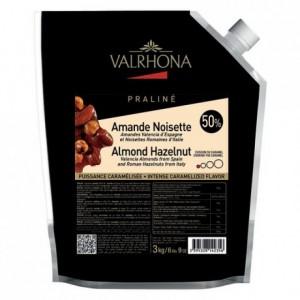 Praliné caramélisé amande noisette 50% 3 kg