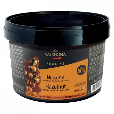 Hazelnut Caramelized Praliné 60% nuts 5 kg