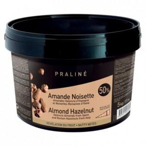 Praliné caramélisé amande noisette 50% 5 kg