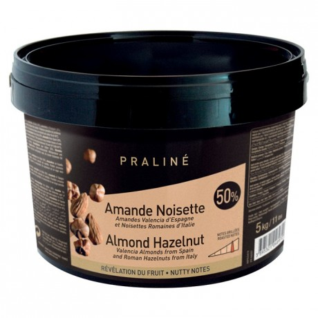 Almond Hazelnut Caramelized Praliné 50% nuts 5 kg
