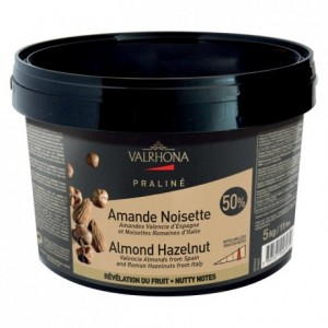 Almond Hazelnut Fruity Praliné 50% nuts 5 kg