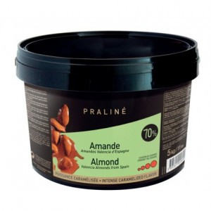 Almond Fruity Praliné 70% nuts 5 kg