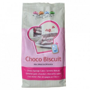 Préparation pour génoise au chocolat FunCakes 1 kg