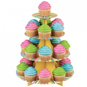 Présentoir 25 cupcakes Wilton Color Wheel