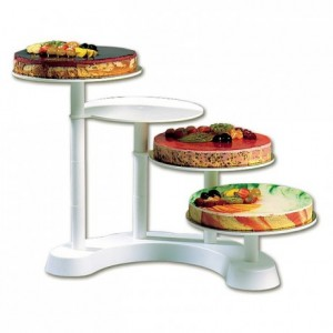 4-tier cake stand Ø 280 mm H 440 mm