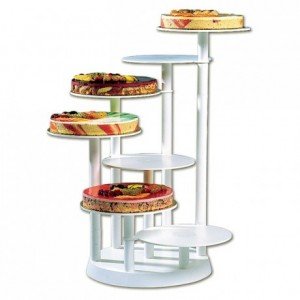 Puzzle 7-tier cake stand Ø 280 mm H 750 mm