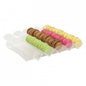 Macaroon display stand flat model (5 rows)