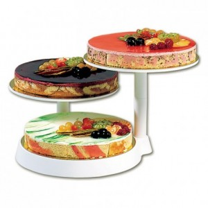 Counter cake stand Ø 280 mm H 250 mm