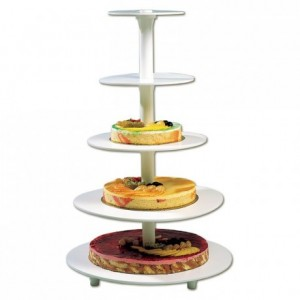 5-tier wedding cake stand H 710 mm